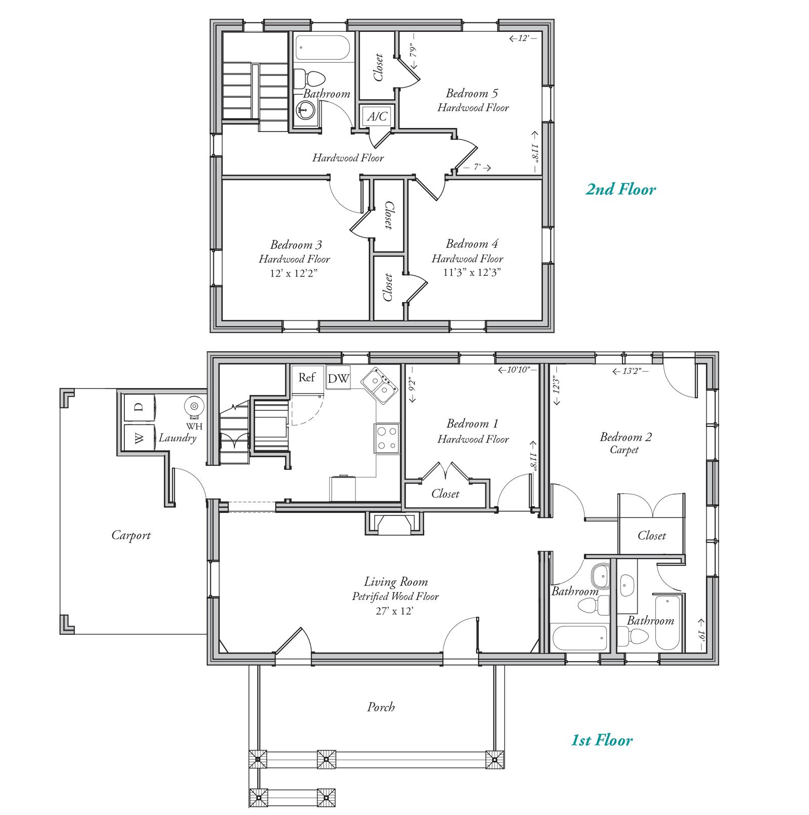 609 House Floor Plan