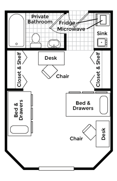 Extra Large Double Floor Plan